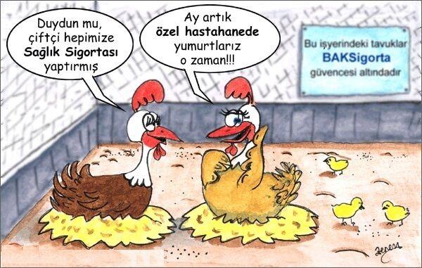 Sağlık İle İlgili Karikatürler