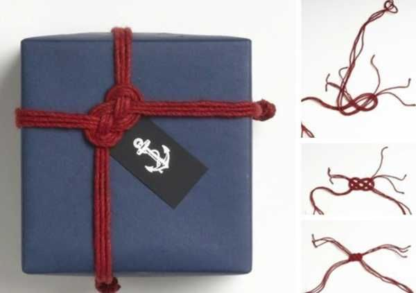 gift box with knot