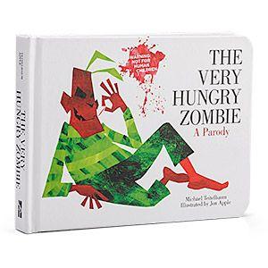 ThinkGeek :: The Very Hungry Zombie: A Parody #zombie
