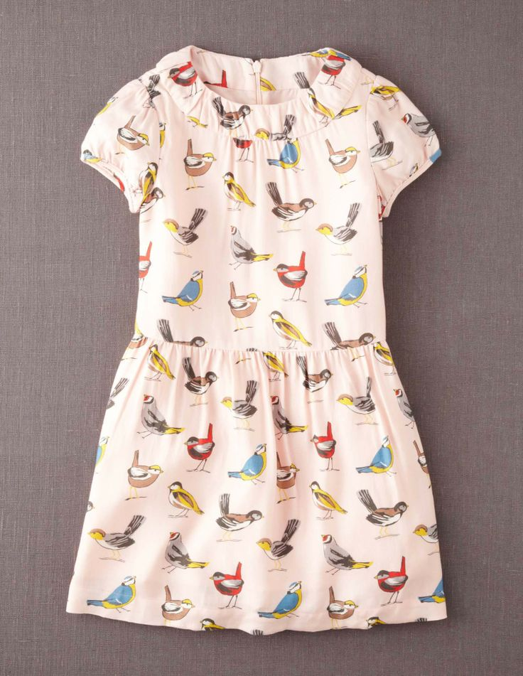 Printed Tea Dress #miniboden