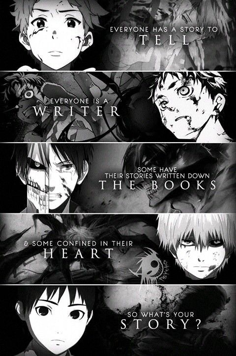 The bottom anime in the very bottom under tokyo ghoul is ajin it's a Netflix original and I've watched it it's realy cool and interesting. I suggest it it everyone and anyone!