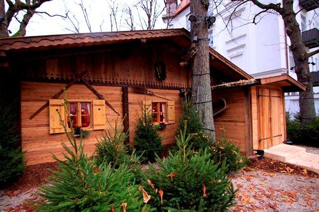 Kapuziner Bräuhaus München - Willkommen - Zünftiger Advents-Brunch in der Almhütte im Stadtbiergarten