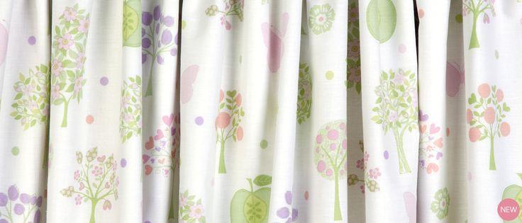 Esme Pencil PleatReady Made Curtains at Laura Ashley