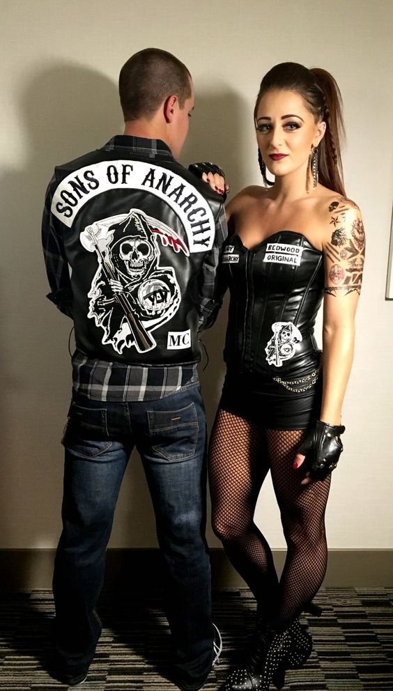 Sons of Anarchy Couples Halloween Costume Ideas