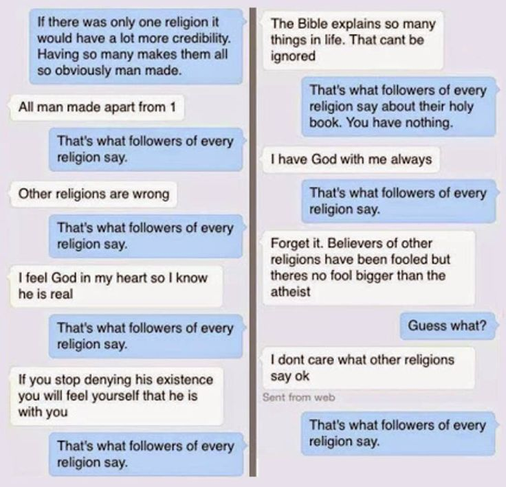 Thats What Followers Of Every Religion Say Magicskyfairy - Which religion has most followers