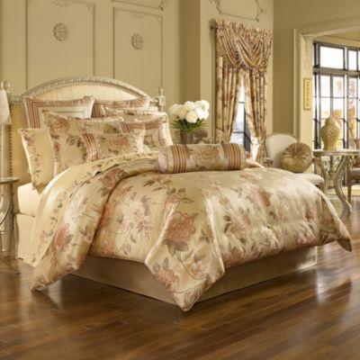 J. Queen New York™ Heritage Coral Comforter Set - BedBathandBeyond.com