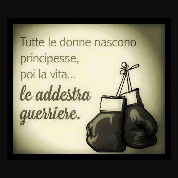 Tutte le donne nascono principesse, poi la vita... le addestra guerriere.