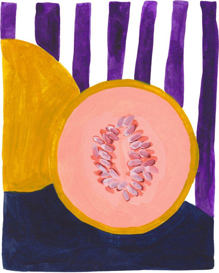 Léa Maupetit - Purple melon