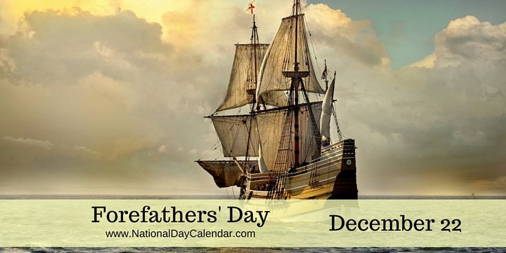 #ForefathersDay is a holiday observed in Plymouth, Massachusetts, on December 22. It is a commemoration of the landing of the Pilgrim Fathers in Plymouth, Massachusetts, on December 21, 1620. It was introduced in Plymouth, Massachusetts, in 1769. via @nationaldaycal