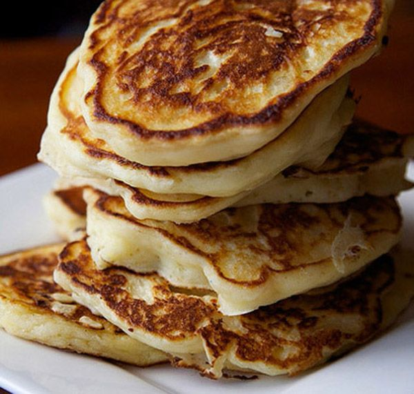 Delicious, healthy, and Fluffy yogurt pancakes