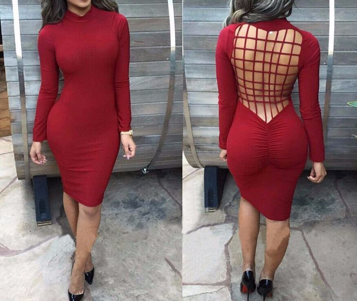 Women's Evening Skonny Sexual Dress