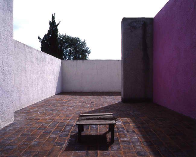 Casa Luis Barragan. 1943. Mexico City. Luis Barragan.