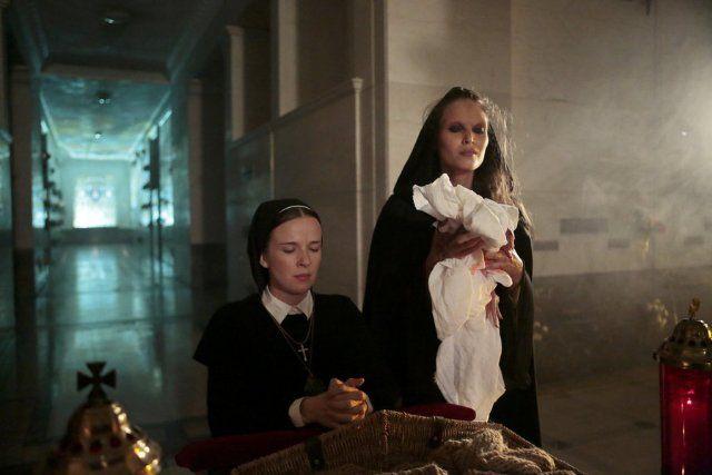 stills from Constantine tv show | Still of Claire van der Boom and Paloma Guzmán in Constantine (2014)