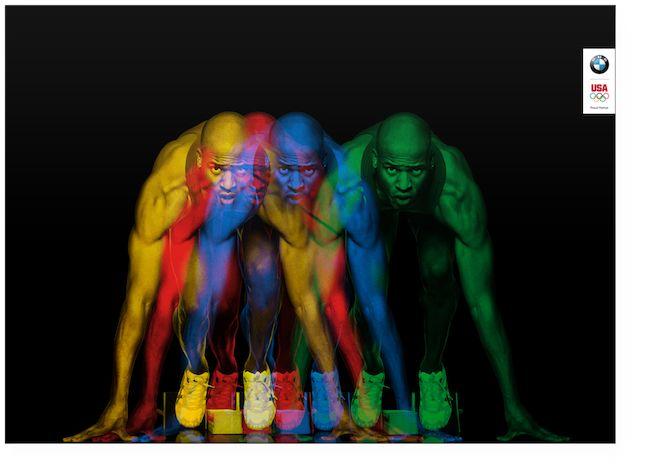 Raygun Studio (Michael Tompert) -  Olympian Posters for BMW