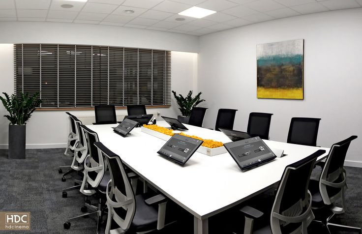 Conference Room / Warsaw, Poland.  #conference #business #smart #audiovisual #inteligencetechnology #tech