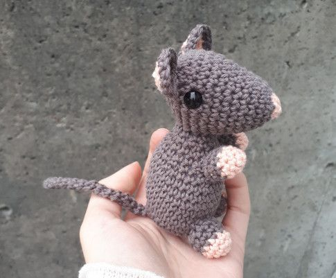 crochet mouse free pattern