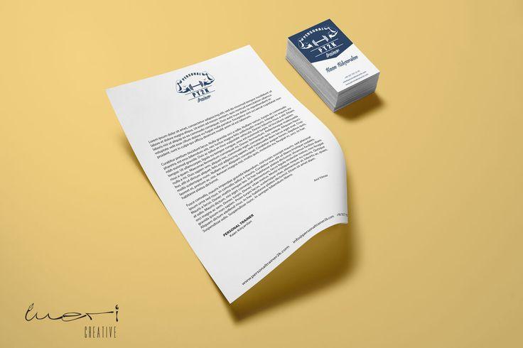 PT2K (Personal Trainer Kaan Kılıçarslan) için yaptığımız Antetli Kağıt ve Kartvizit Tasarımı