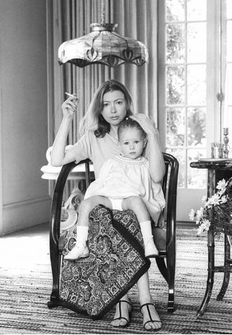 Joan Didion and daugther Quintana Roo