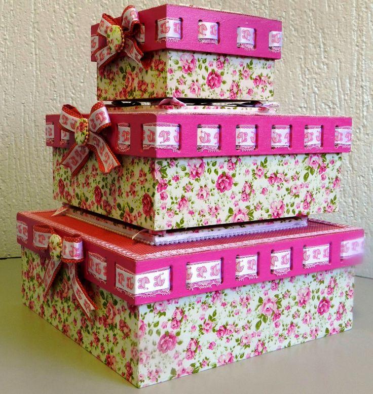 Caixa mdf com shaker box