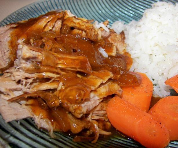 Couldn T Be Easier Bbq Pork Tenderloin Crock Pot