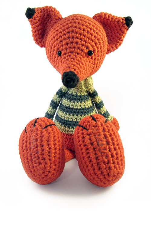 Knitting Animals Amigurumi : Best amigurumi fox images on pinterest crochet