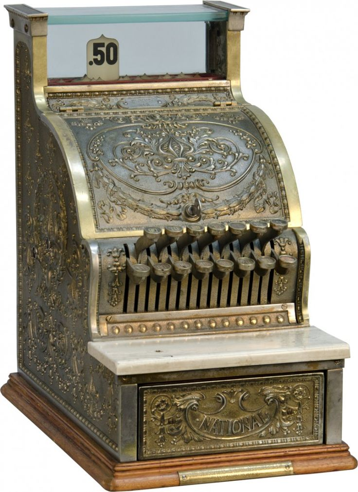 National Cash Register No. 313 Candy Store