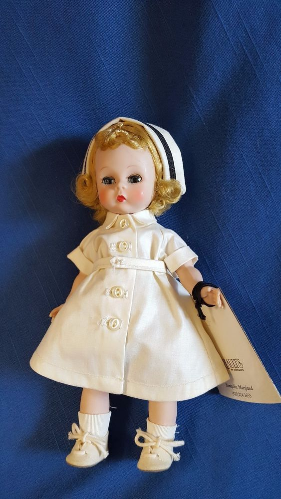 Long Blonde Braided wig   for 8/'/' Madame Alexander Dolls