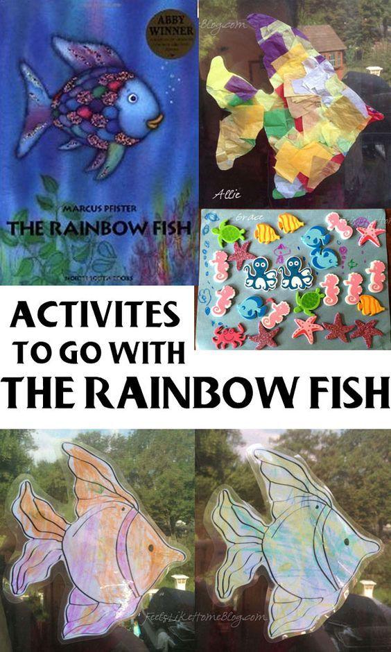 Die besten 25 the rainbow fish ideen auf pinterest for 94 1 the fish
