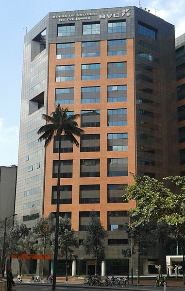 BVC Bogota.//The Colombian Stock Exchange is part of the Latin American Integrated Market (MILA