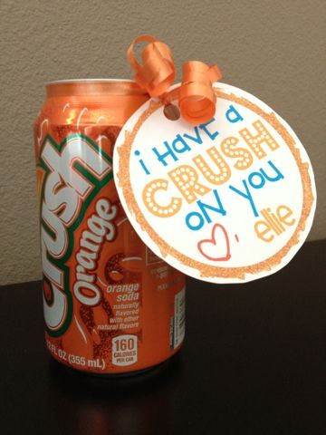i have a crush on you MomsReview4You: Fun Soda Valentine Ideas! *FREE PRINTABLE*