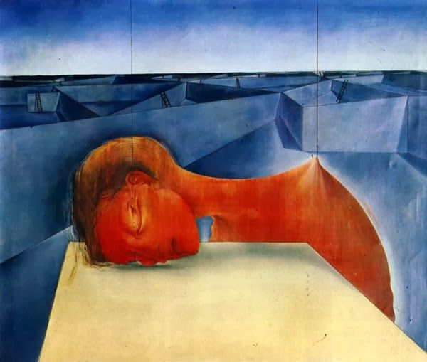 Mikuláš Medek - Metafyzická transformace bolesti (The head of a sleeping dream Imperialistic)