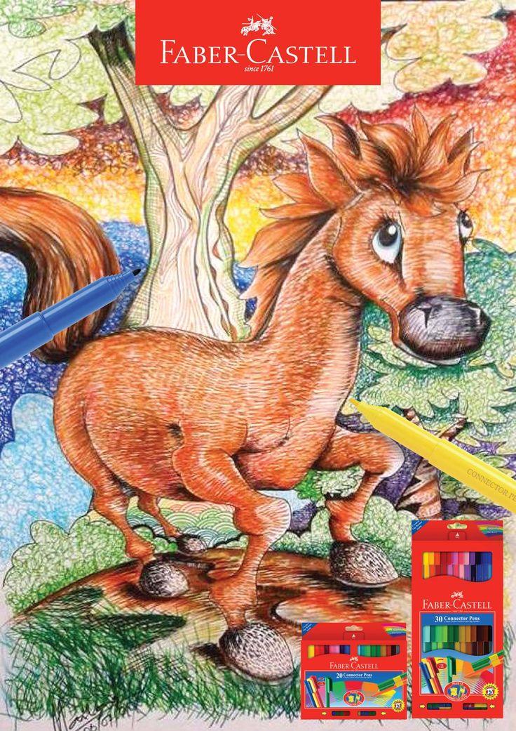 Horse-Connector Pen Faber-Castell