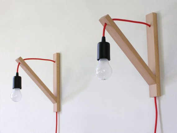 Pair of Wall lamp, minimalist wall sconce, minimal simplicity
