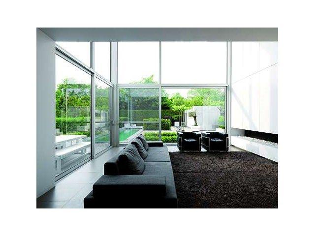 Fenêtres en aluminium • intérieur modern • www.sapa-chassis.be # livios.be