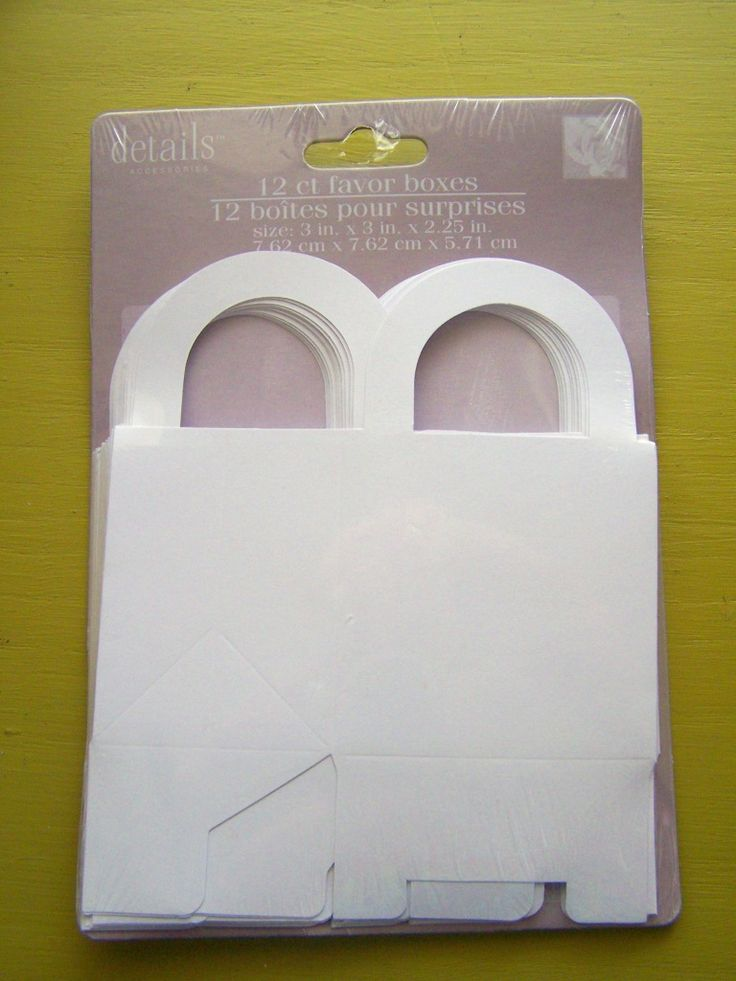 The Many Ways To Use Plain White Fold It Yourself Boxes From Dollar Tree Wedding Section GREAT Ideas For Wrapping