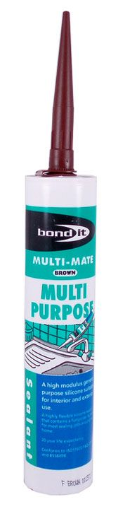 Bond It All Purpose Silicone Sealant Brown 310ml At Door furniture direct we sell high quality products at great value including Multi Purpose Silicone Brown 310ml in our Maintenance and Repair range. We also offer free delivery when you spend over  http://www.MightGet.com/january-2017-12/bond-it-all-purpose-silicone-sealant-brown-310ml.asp