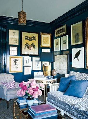 Chicago co-op designed by Nate Berkus Interiors. Published in Elle Decor, March 2010.