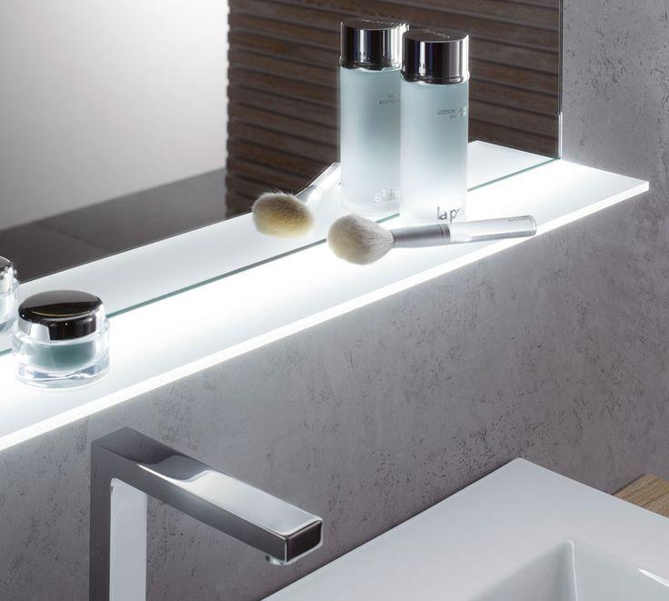 Die besten 25+ Glasablage Ideen auf Pinterest Diy holz, Lampen - badezimmerspiegel mit licht