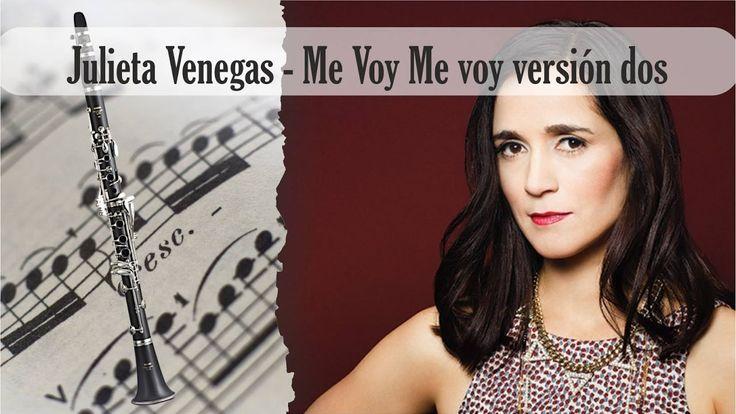 Partitura Julieta Venegas - Me Voy Me voy versión dos Clarinete Soprano