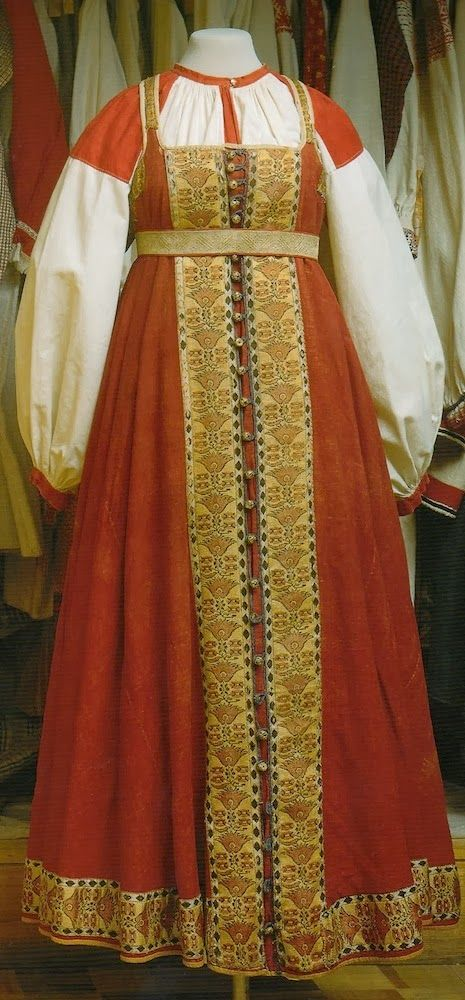 Confessions of a Costumeholic / Confessions d'une Costumeholique: Russia's National costume (part 1) The Sarafan / Le costume national Russe (partie 1): Le Sarafane