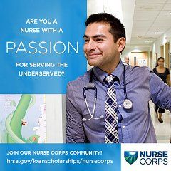 Nurse Corps Loan Repayment Program NURSE Corps Loan Repayment Program enables dedicated registered nurses committed to caring for underserved people to serve in hospitals and clinics in some of America's neediest communities,