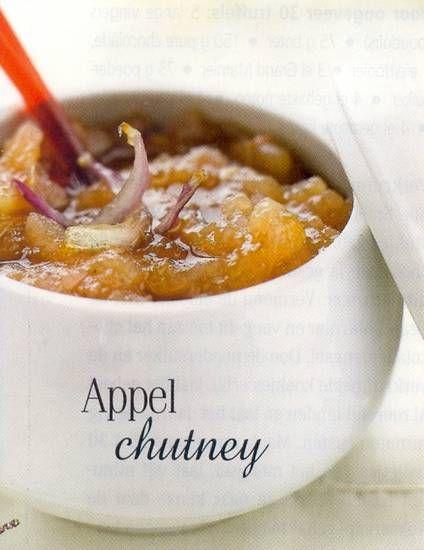 Apple Chutney - Vegan... Use google translator...Fall is here so bring on the apples and pumpkins!