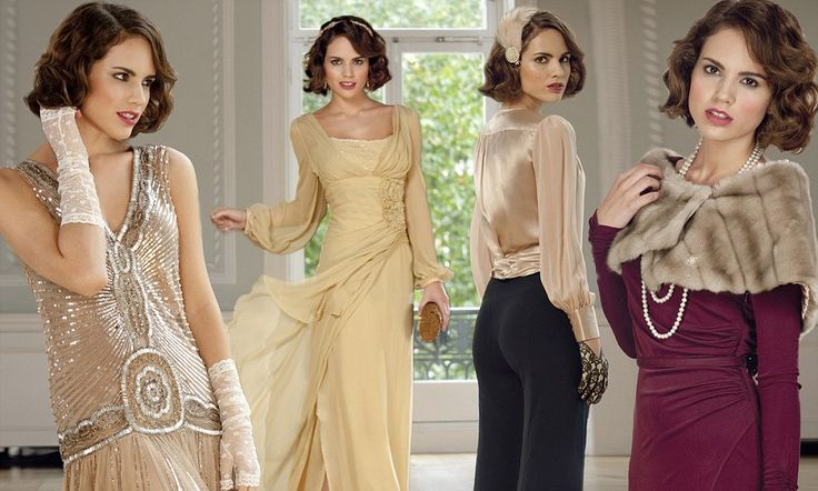 Downton on the High Street: How Lord Grantham's girls have brought Edwardian elegance back to the shops