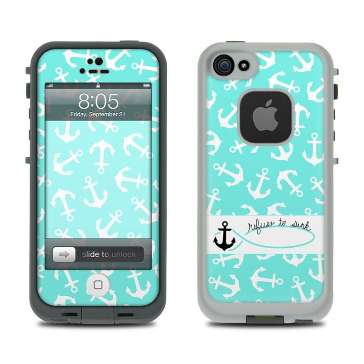 Lifeproof iPhone 5 Case Skin - Refuse to Sink