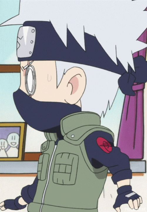 "Who is that with Kakashi?--------> It's Neji in ""character"" as a nosy neighbor trying to get Kakashi to go on a date"