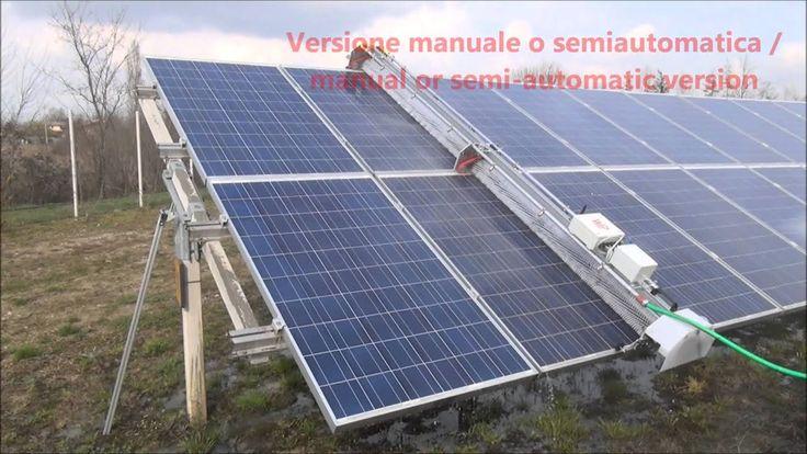 Soluzioni per lavaggio e pulizia fotovoltaico / Solar