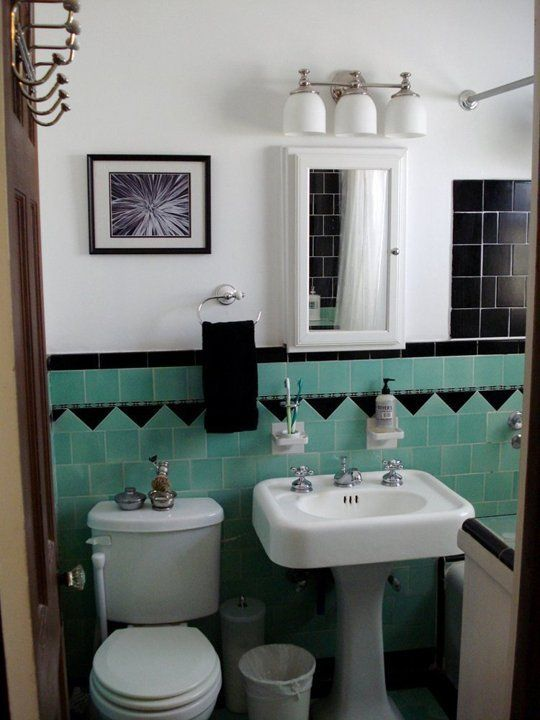 Bathroom Tile Ideas Vintage 87 best black and white tile patterns for vintage bath images on