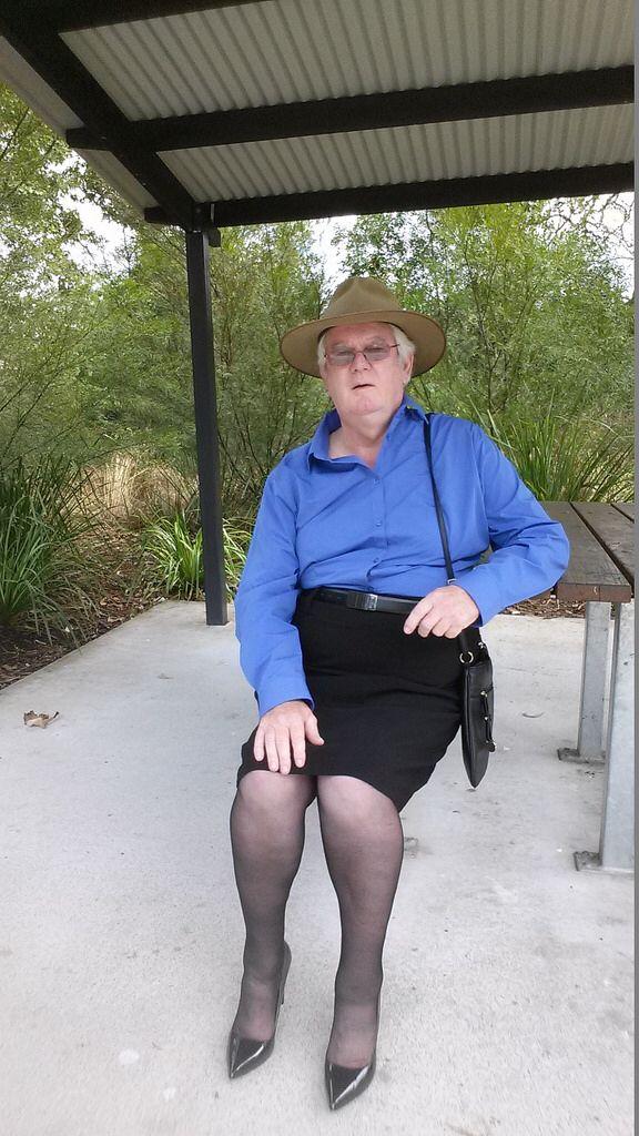 Bobby in the park