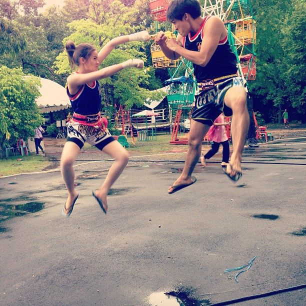 "The couple Thailand loves to love - ""Yaya (ญาญ่า)"" Urassaya Sperbund (อุรัสยา เสปอร์บันด์) & ""Barry"" Nadech Kugimiya (ณเดชน์ คูกิมิยะ;) - http://goo.gl/vu9Zrj"
