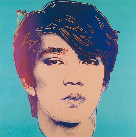 Sakamoto by Warhol, 1984